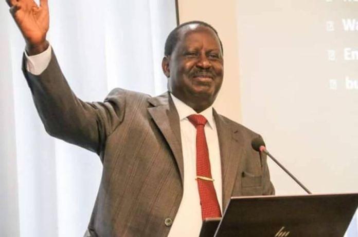 ODM boss Raila Odinga lays out his 2022 manifesto to Nyanza leaders