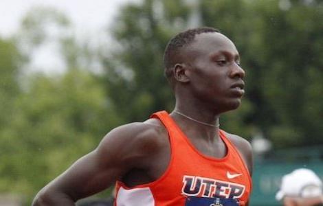 Emmanuel Korir at a past racing event.