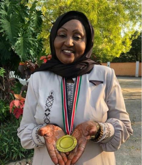 Former Kwale County Women Rep aspirant Zainab Chidzuga