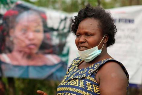Melinda Auma,Sharon Otieno's Mother