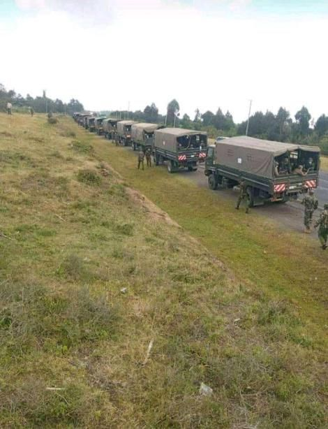 Troops Being Sent to Laikipia on Friday September 10