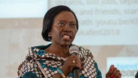 Martha Karua, NARC party leader
