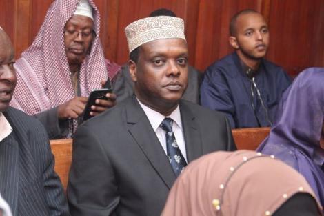 Former Sports Cabinet Secretary Hassan Wario