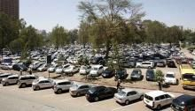 An undated file image of a parking lot within the Central Business District.