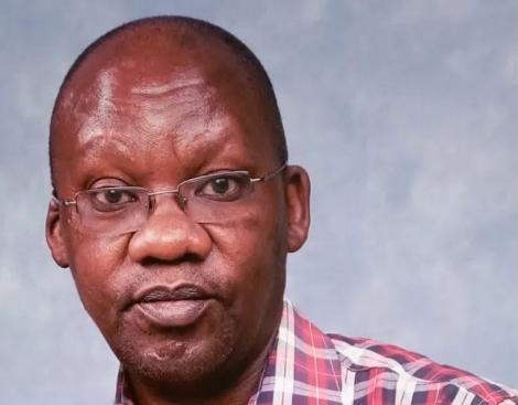 Dr James Gakara consult at the Nakuru level 5 hospital
