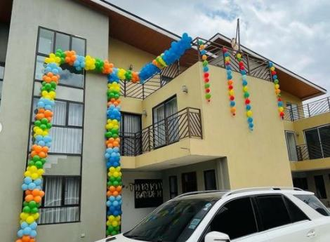 CEO gifts six-year-old son palatial home