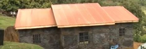 An undated file image of new house gifted to 76-year-old Priscilla Wanjiru