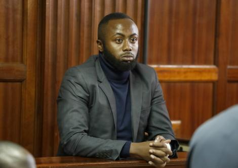File image of Jowie Irungu in court on November 21, 2019