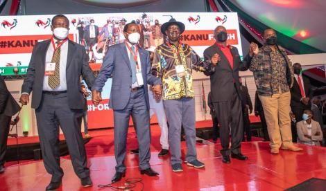 Top leaders Attending KANU Event at Bomas of Kenya on Thursday September30