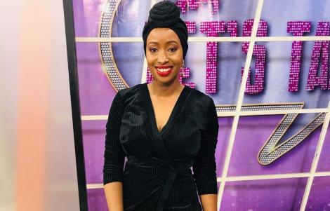 File image of media personality Janet Mbugua
