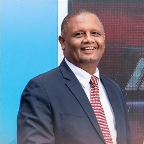 Veteran Swahili news anchor, Badi Muhsin