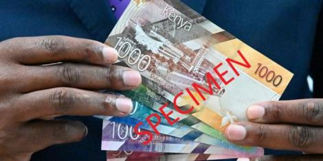File image of new generation bank notes