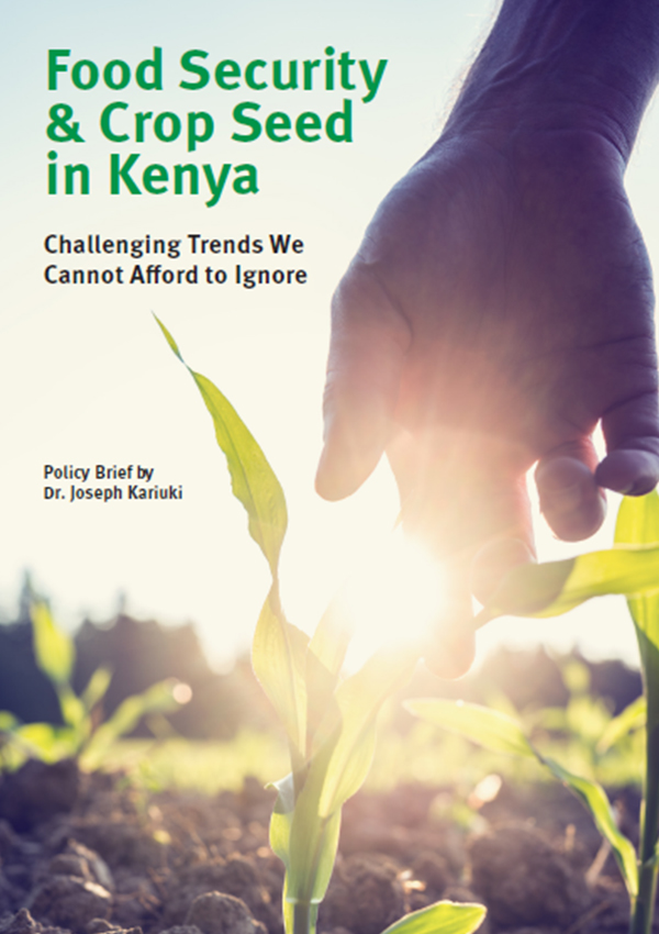 Food Security Policy Kenya