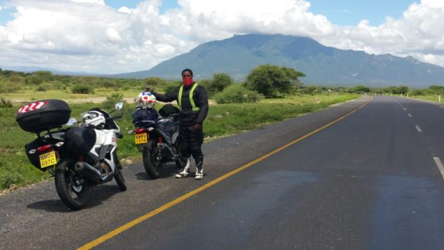 Motorcycle Ride from Nairobi to Arusha, Tanzania.