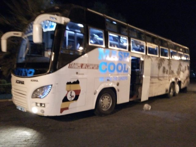 Nairobi to Kampala bus