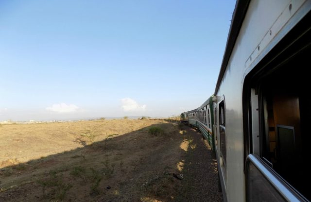 Train from Nairobi to Mombasa
