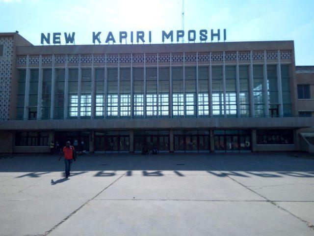 TAZARA Trains - Kapiri Mposhi Station