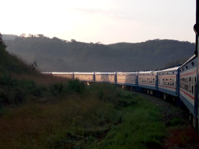 TAZARA Trains - Mukuba Express Train Zambia