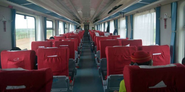 SGR Madaraka Express train tickets - SGR Madaraka express train First class