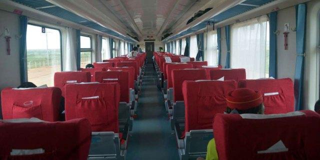 SGR Madaraka Express train tickets - SGR Madaraka express train First class