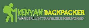 Kenyan Backpacker Travel Blog - Logo