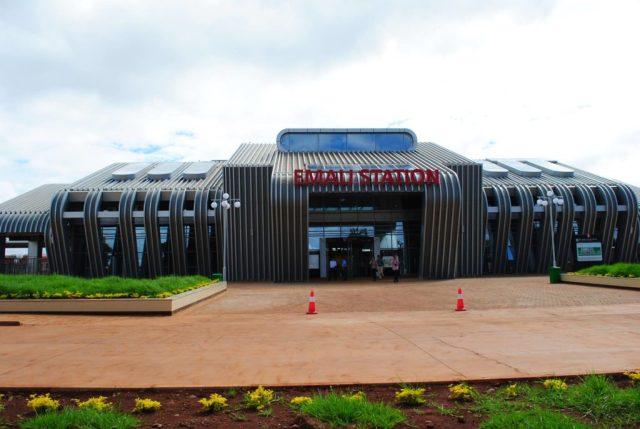 County Train - Emali Station