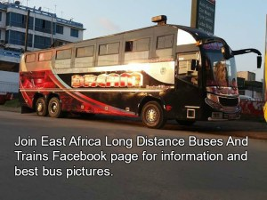 East Africa Long Distance Buses and Trains