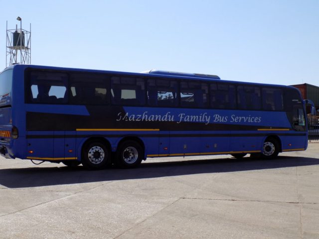 Traveling by bus in East Africa - Mazhandu family bus