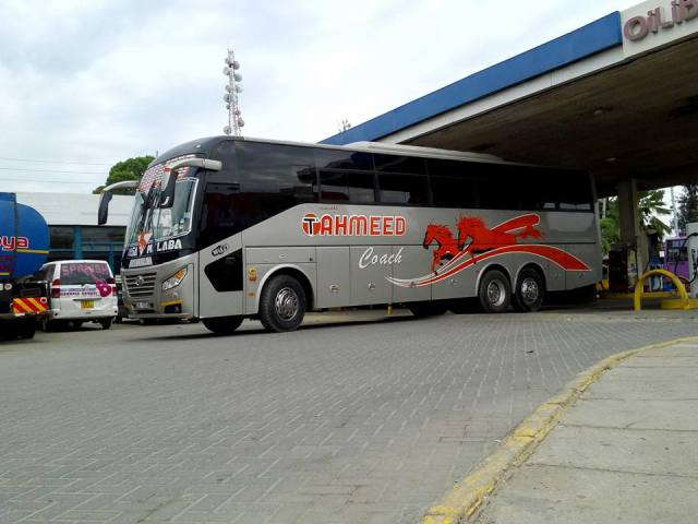 Traveling by bus in East Africa - Tahmeed Coach