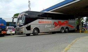 Traveling by bus in East Africa - Tahmeed Coach main post cover