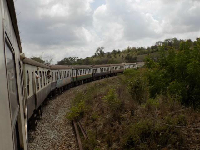 Best Travel Photos of 2017 -Lunatic Express between Nairobi and Mombasa