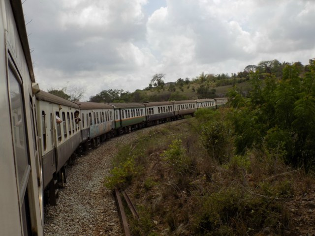Best Travel Photos of 2017 -Lunatic Express between Nairobi and Mombasa