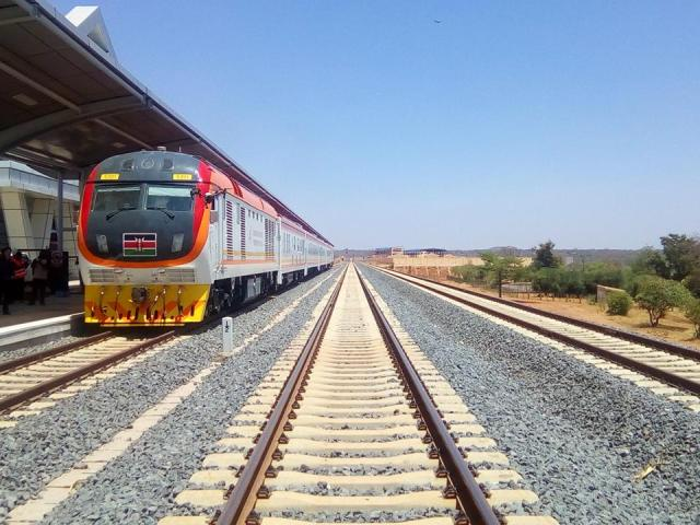 Best Travel Photos of 2017 - New SGR Madaraka Express Train