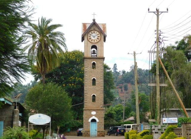 Nyeri Clock Tower Places to visit and things to do in Nyeri County 2018