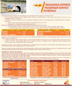 Kenya Railways Nairobi to Suswa