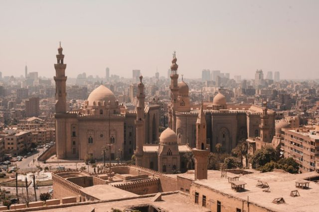 Egypt The Mosque of Rifai and Sultan Hassan