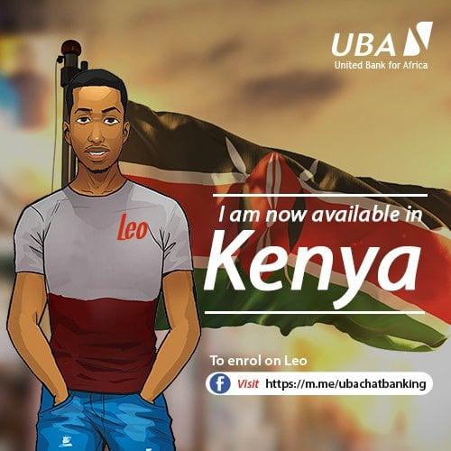 UBA Unveils Facebook Chat Banking In Kenya