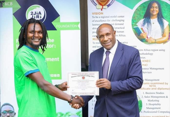 KCB Foundation Trains 92 Youth In Smart Farming