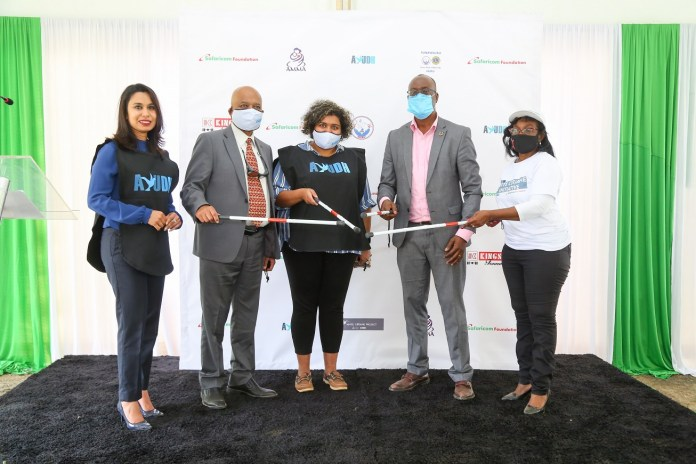 Safaricom & AYUDH Kenya Partner To Distribute White Canes To 20,000 Blind And Visually Impaired Persons