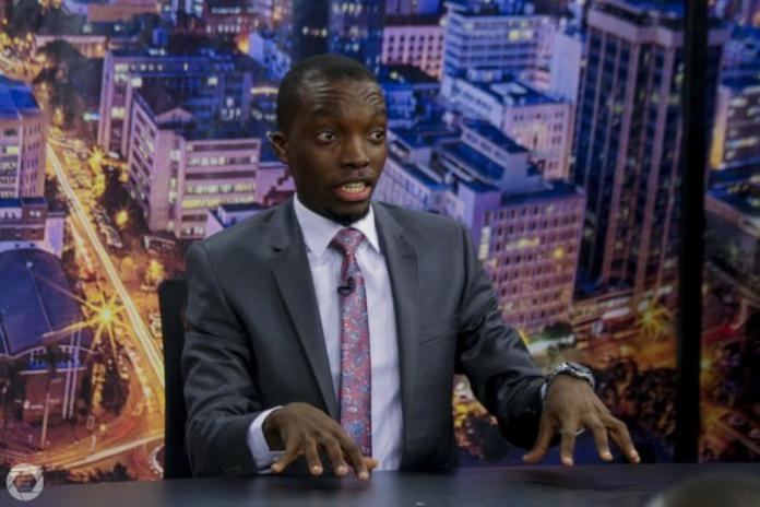 Dr King'ori pictured on the set of his Wicked Edition show.