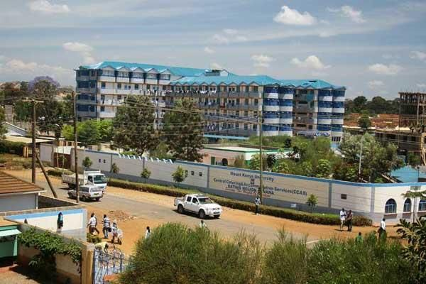 Mt Kenya University hostels in Thika.