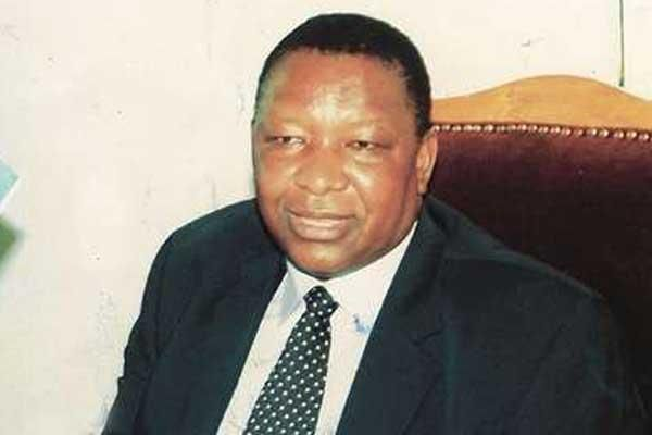 Former Tourism and Wildlife Minister Emmanuel Karisa Maitha who died of a heart attack while on official duty in Germany in 2004.