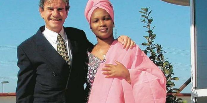 The late businessman Tob Cohen with his wife Sarah Wairimu.