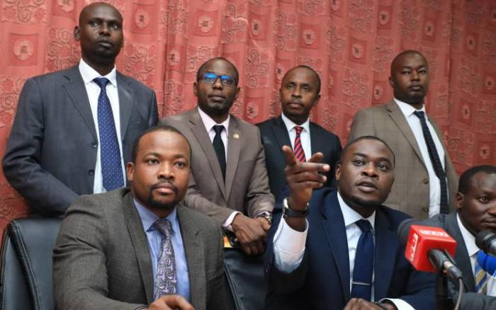 Nairobi MPs led by Senator Sakaja accuse governor sonko of mismanaging the county