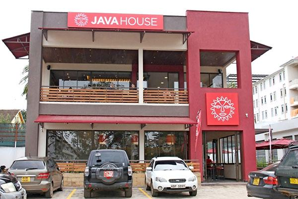 File image of the Java Lavington branch on James Gichuru road, Nairobi