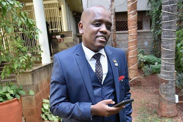 Digital Innovations and Diaspora Communications Secretary Dennis Itumbi