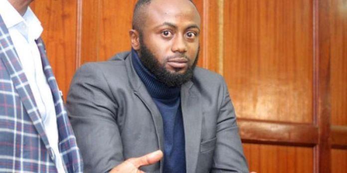 Joseph Irungu alias Jowie in court on November 21, 2019