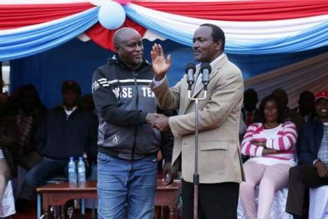 The former Kibwezi MP Kalembe Ndile died on May 30, 2021.
