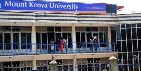 Mount Kenya University campus in Kicukiro, Kigali.