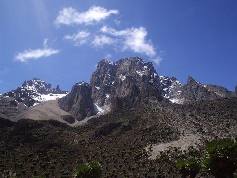 Mt Kenya.